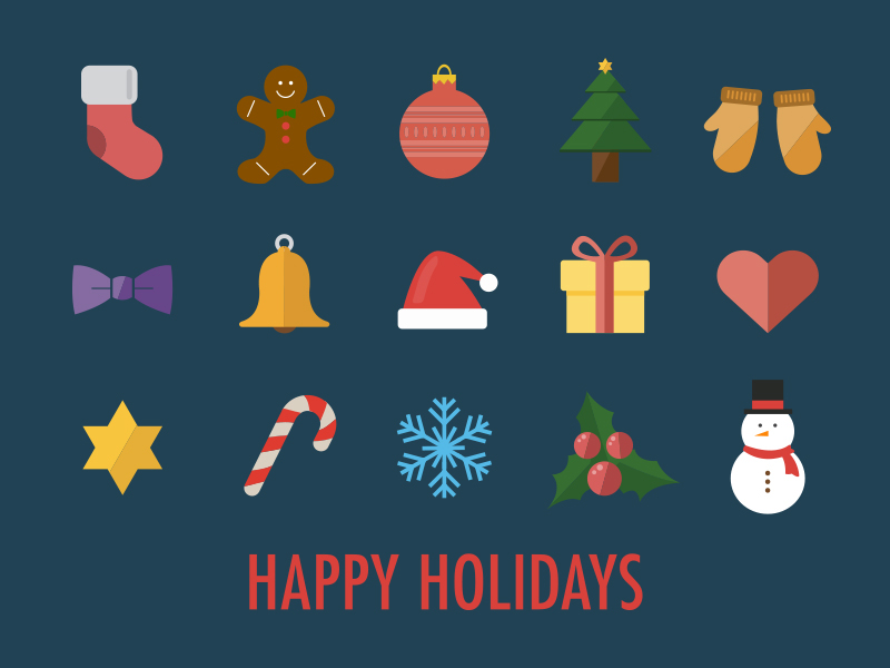 Скачать 15 Christmas Icons