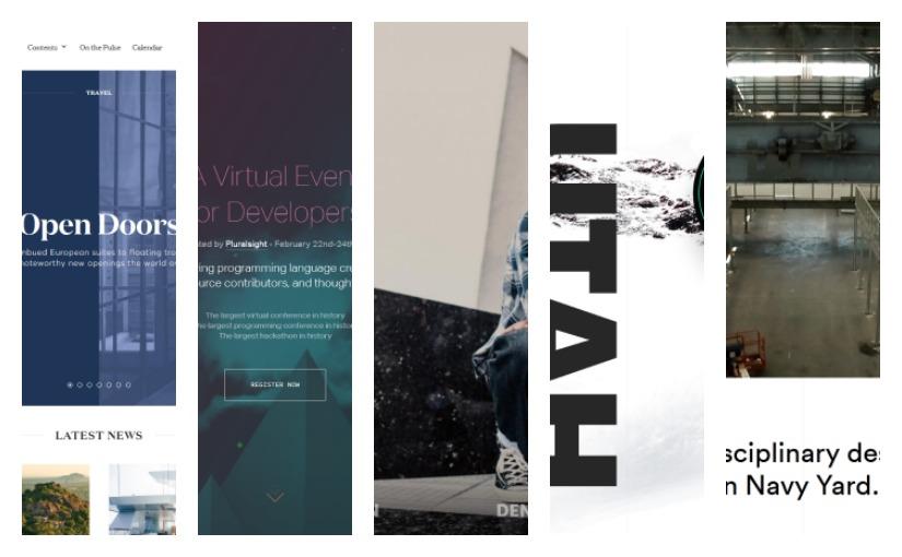 Дизайн сайтов для вдохновения №5