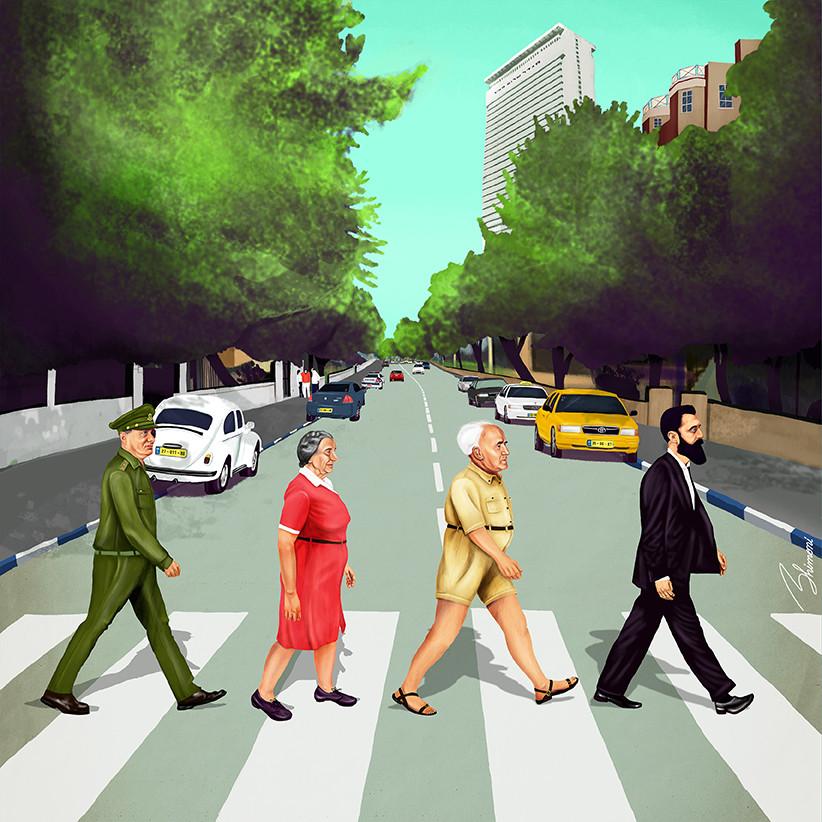 Abbey Road пародия как хипстеры