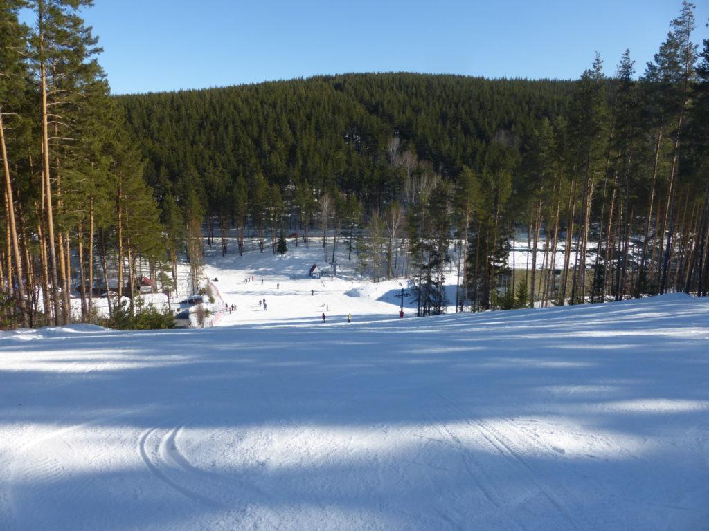 К сожалению, не удалось  покататься на лыжах в этот раз(